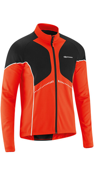 Gonso Dominik - Maillot manches longues Homme - orange